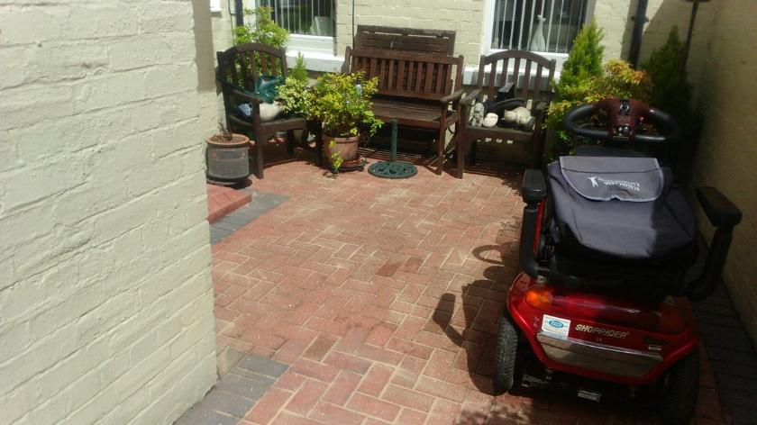High Pressure Block paving Cleaning Sunderland
