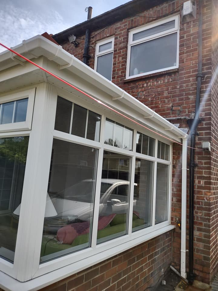Exterior upvc Cleaning in Sunderland